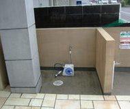 東区 マンション ゴミ捨て場 高圧洗浄サムネイル