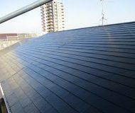 中央区 アパートコロニアル屋根塗装 シリコンサムネイル
