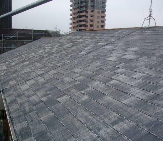 コロニアル屋根 屋根塗装