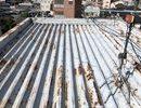 北区 折半屋根  遮熱塗装サムネイル