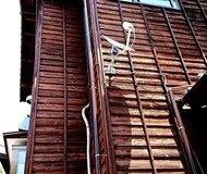 寺院 木壁 塗装サムネイル