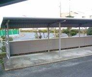 北区 マンション 駐輪場鉄骨塗装 ウレタンサムネイル