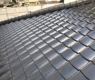 合志市須屋  屋根塗装 フッソサムネイル