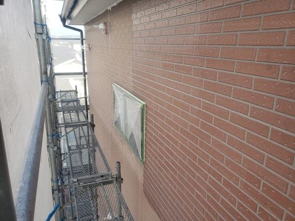 宇城市 アパート 外壁 上塗り 遮熱塗料サムネイル