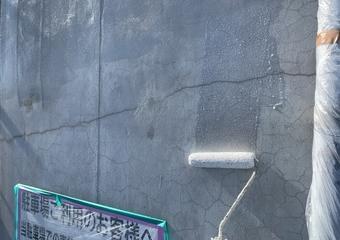 北区ビル 外壁 下塗り・マスチックサムネイル