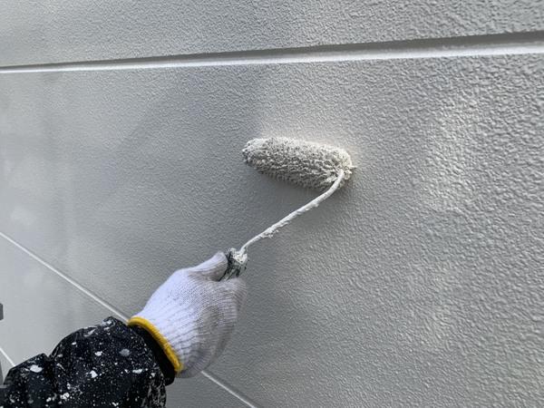 植木町ビル 外壁上塗り ラジカルサムネイル