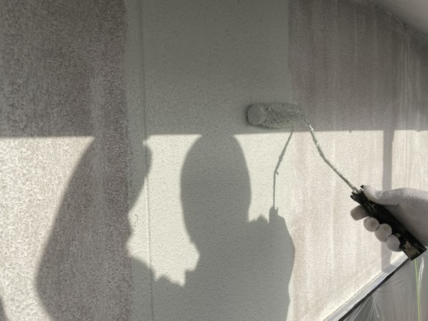 東区住宅 外壁上塗り 遮熱塗料サムネイル