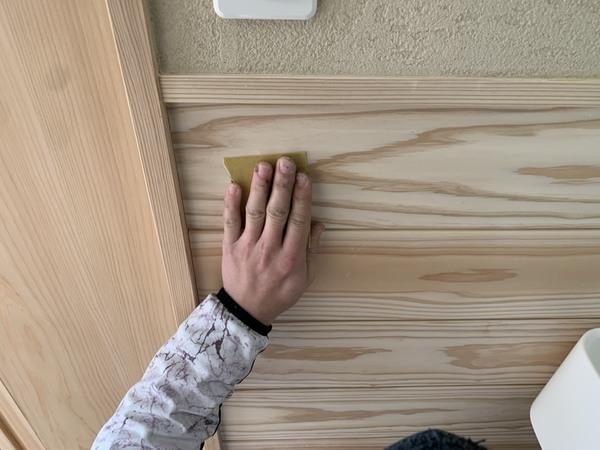 合志市住宅 木部塗装 自然塗料サムネイル