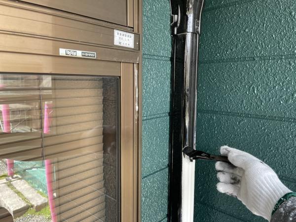 八代市住宅 エアコンダクトカバー塗装サムネイル