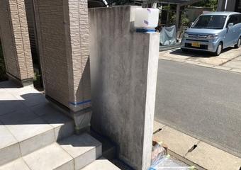 北区住宅 門塀塗装サムネイル