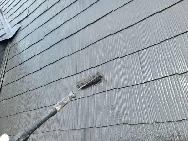 中央区住宅屋根上塗り セラミックサムネイル
