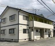 玉名市アパート 外壁・屋根塗装 シリコンサムネイル