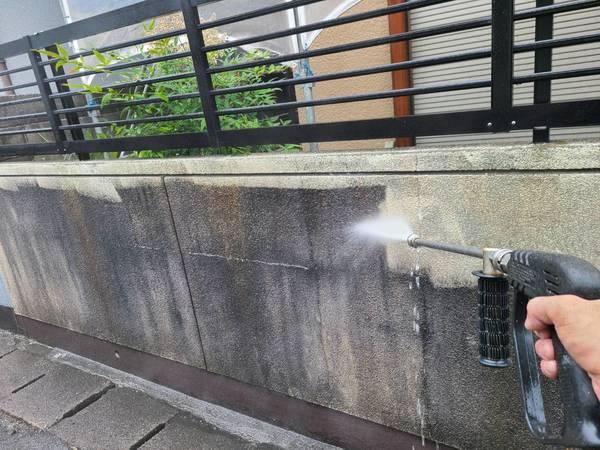 中央区住宅 高圧洗浄サムネイル