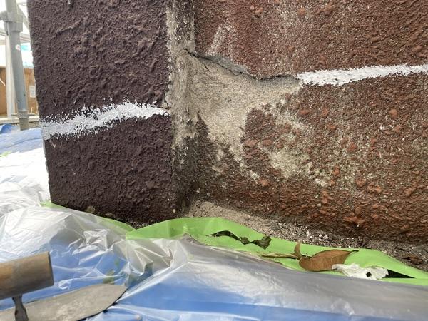 東区店舗 外壁 下地処理サムネイル