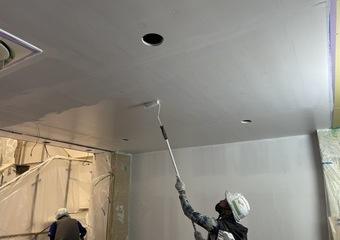 下通り店舗 天井塗装サムネイル