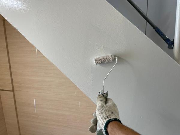 下通り店舗 階段上塗りサムネイル
