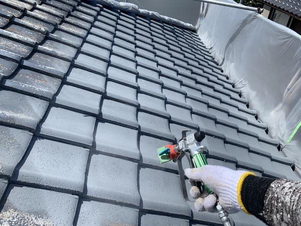 東区住宅 屋根下塗りサムネイル