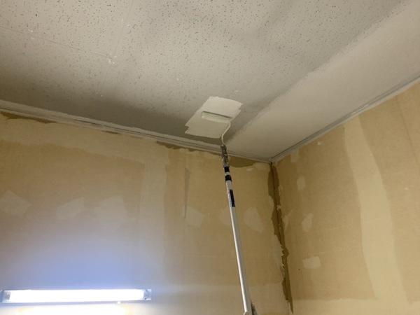 健軍町店舗 内部天井塗装サムネイル