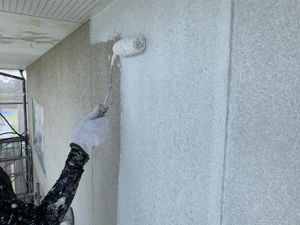 東区住宅 外壁下塗りサムネイル